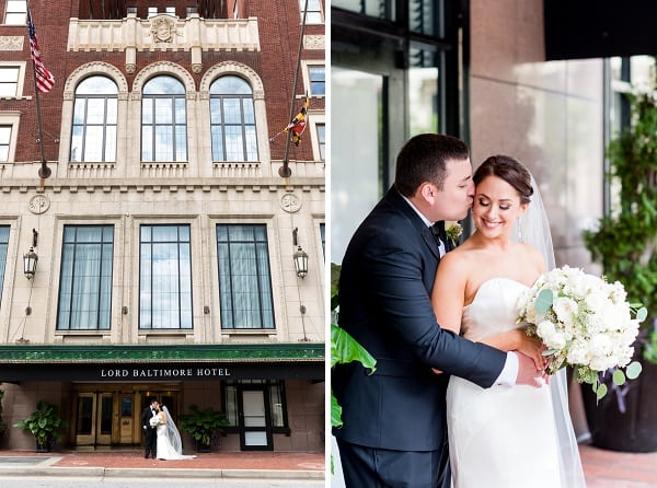 Lord baltimore hotel wedding by kirsten smith photography for Lord of baltimore hotel