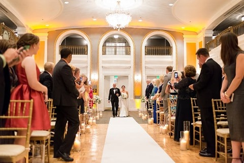 Lord Baltimore Hotel Wedding By Kirsten Smith Photography