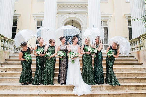 Lush Green Evergreen Wedding || Focus Bay Photography || Charm City Wed || www.charmcitywed.com