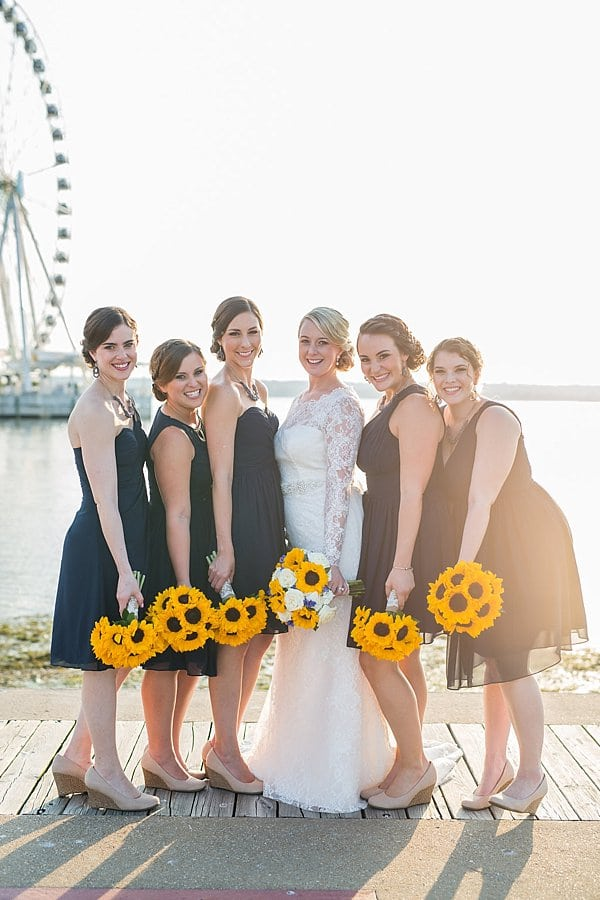 National Harbor Sunset Room Wedding || Taylor and Ben Photography || Charm City Wed || www.charmcitywed.com