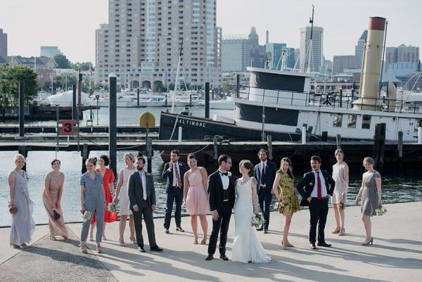 Festive Baltimore Museum of Industry Wedding || Love Life Images || Charm City Wed || www.charmcitywed.com