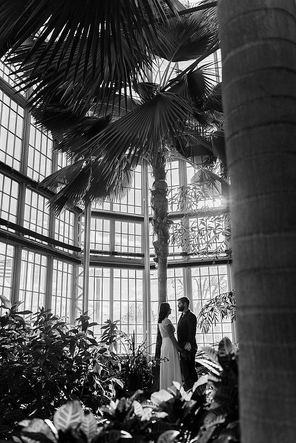 Rawlings Conservatory Wedding Vow Renewal || Kirsten Smith Photography || Charm City Wed || www.charmcitywed.com