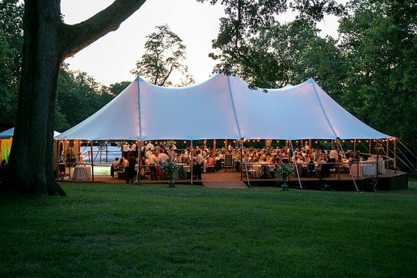 Luxe Tented Wedding || Artful Weddings || Charm City Wed || www.charmcitywed.com