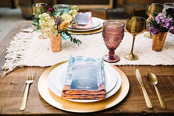 Modern Boho Wedding Styled Shoot || Karlin Villondo Photography || Charm City Wed || www.charmcitywed.com