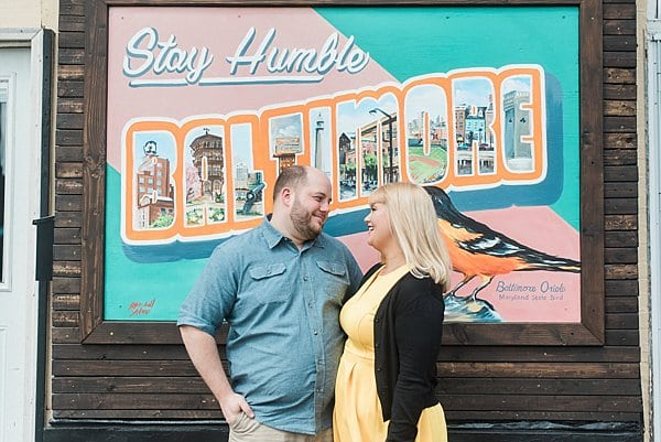 Hampden Engagement Session || Meghan Elizabeth Photography || Charm City Wed || www.charmcitywed.com