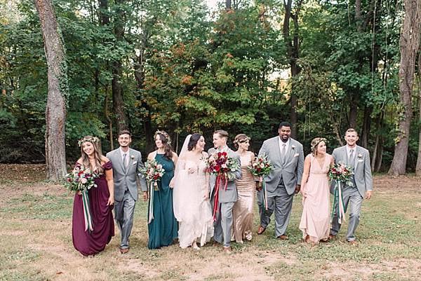 Backyard Wedding Elkridge Maryland || Megan Elizabeth Photography || Charm City Wed || www.charmcitywed.com